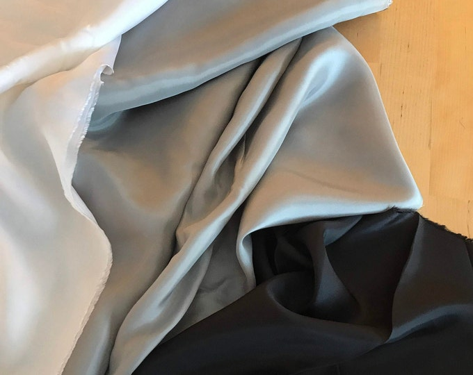 Avanti Bemberg 100% Rayon Lining in Dark Gray by Robert Kaufman