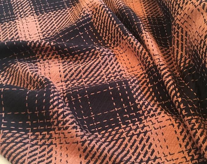 Buffalo Check Woven Wool