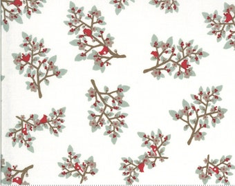 Cardinals in Snow from the Juniper Collection by Moda Fabrics