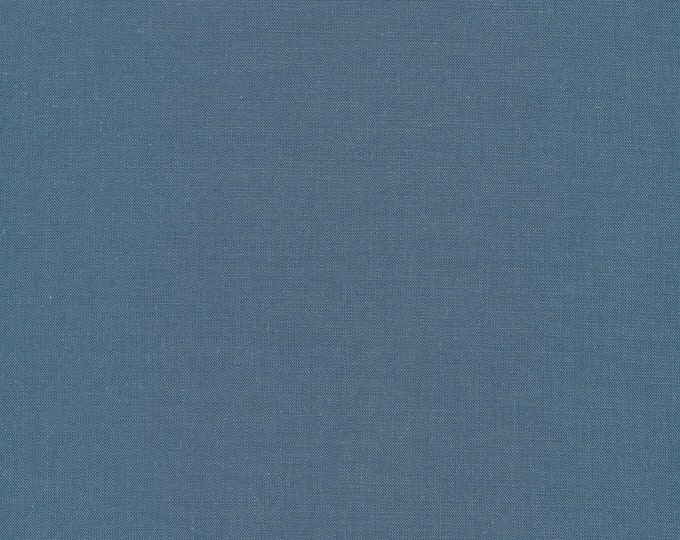 Cirrus Solids in Denim - 100% Organic Cotton by Cloud 9