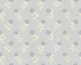 Odoru Hana - Cloud Unbleached Cotton Fabric from Mori No Tomodachi by Cotton + Steel