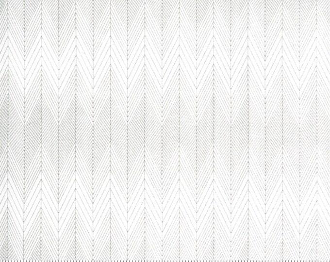 Broken Herringbone in Ash from the Smoke Rust Collection by Moda Fabrics Fabrics