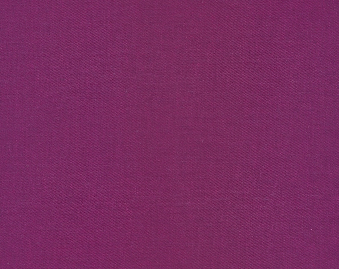 Cirrus Solids in Iris - 100% Organic Cotton by Cloud 9