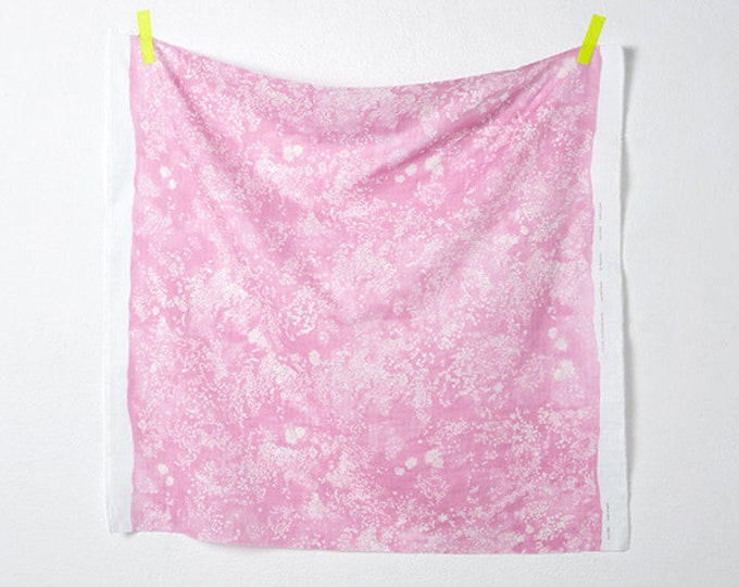 Nani Iro - Lei Nani in Pink 100% Cotton Double Gauze