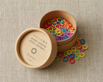 Colored Ring Stitch Markers - SMALL - by CocoKnits