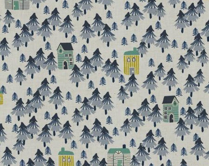 Nature Walk in Stone Unbleached Cotton Fabric from the Chill Out Collection for Cotton + Steel
