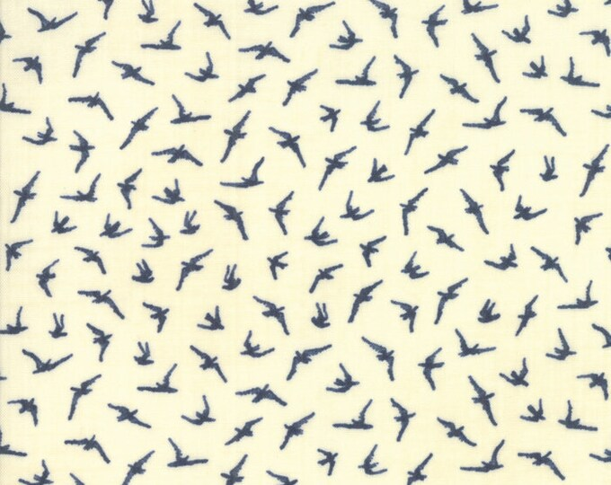 Birds in Pearl from Ebb and Flow by Janet Clare