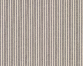 Crawford Stripes in Grey by Robert Kaufman