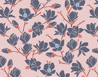 Magnolia in Sunset- Charleston by Amy Sinibaldi- Art Gallery Fabrics