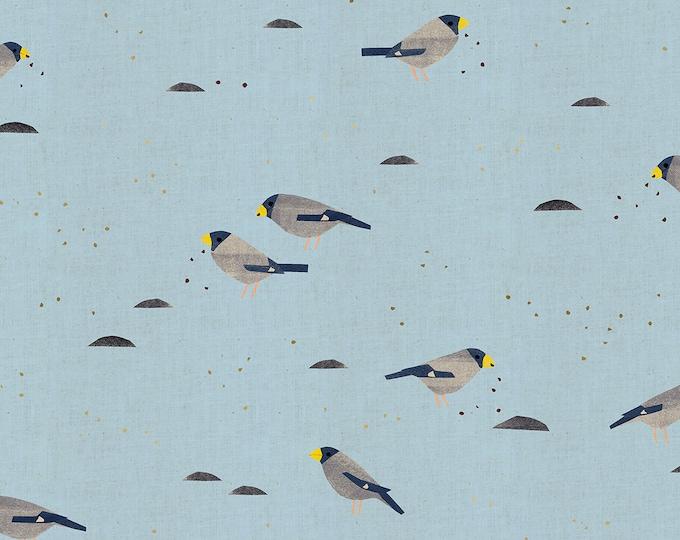 PRESALE: Ikaru in Sky (Metallic) for the Nori + Tori Collection by Cotton + Steel