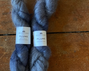 Plume in Anemone by Valhalla Farm Fiber