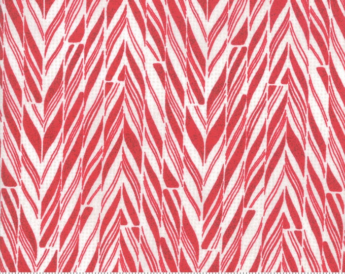 Candy Cane in Baked Apple from the Naughty or Nice Collection by Moda Fabrics