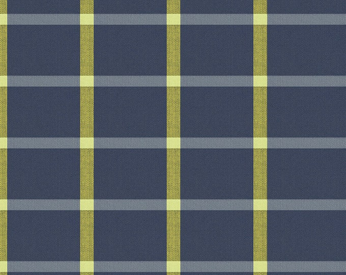 Solar in Navy from the Warp & Weft Heirloom Wovens Collection by Alexia Marcelle Abegg for Ruby Star Society