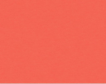 """Primo Solid Knit 60"""" in Poppy from Moda Fabrics"""