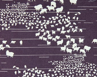100% Organic Cotton Sheep Print by Pickering