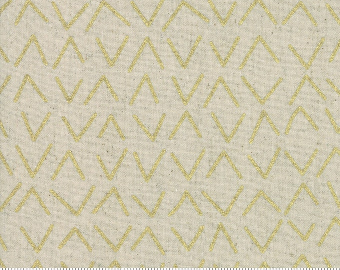 Frost in Linen Gold from the Chill Mochi Collection by Moda Fabrics