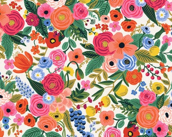 Garden Party in Cream for Wildwood Collection by Rifle Paper Co.