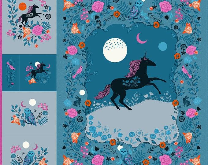 Crescent - Magic Unicorn, Digital Panel Precuts by Sarah Watts
