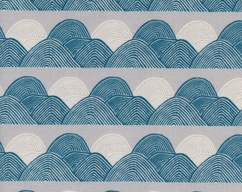 Headlands in Moonlight (cotton) from Imagined Landscapes by Jen Hewett for Cotton + Steel