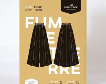 Fumeterre Skirt- Deer and Doe Patterns