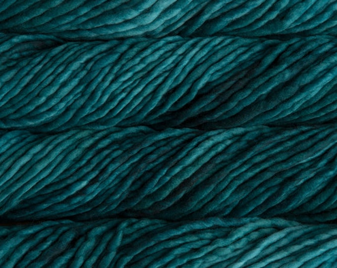 Malabrigo Rasta Yarn - Teal Feather - Merino Wool