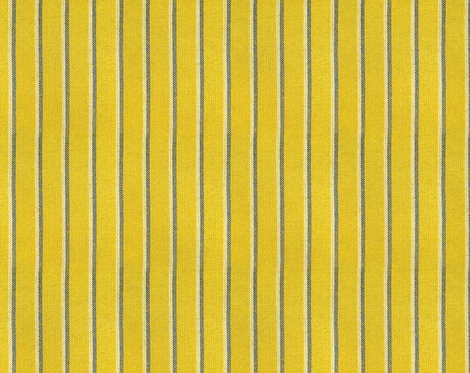Shirtwaist in Goldenrod from the Warp & Weft Heirloom Wovens Collection by Alexia Marcelle Abegg for Ruby Star Society