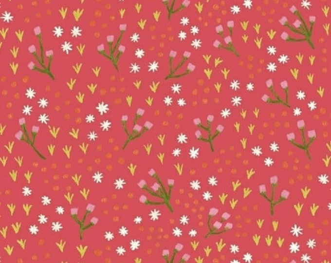 High Meadow in Honeysuckle - Meriwether by Amy Gibson- Windham Fabrics
