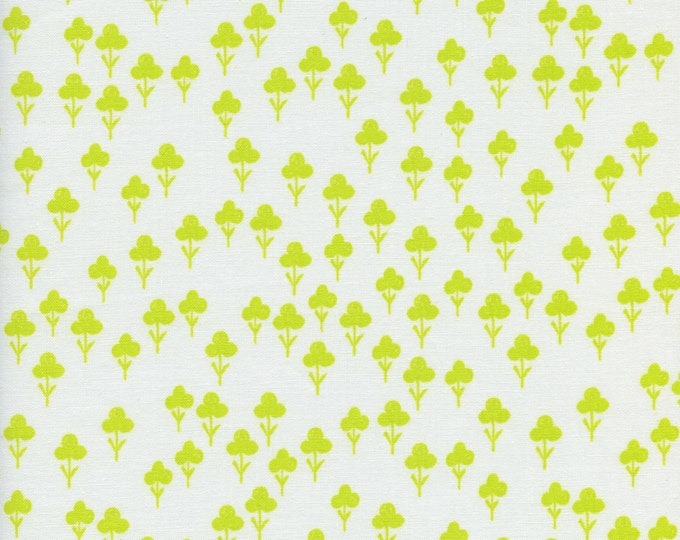 PRESALE: Clovers (in yellow) from Front Yard Collection by Sarah Watts for Cotton + Steel