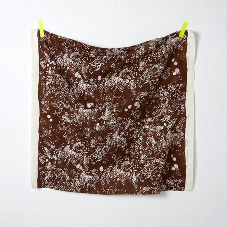 Nani Iro Lei Nani in Brown 100/% Cotton Double Gauze