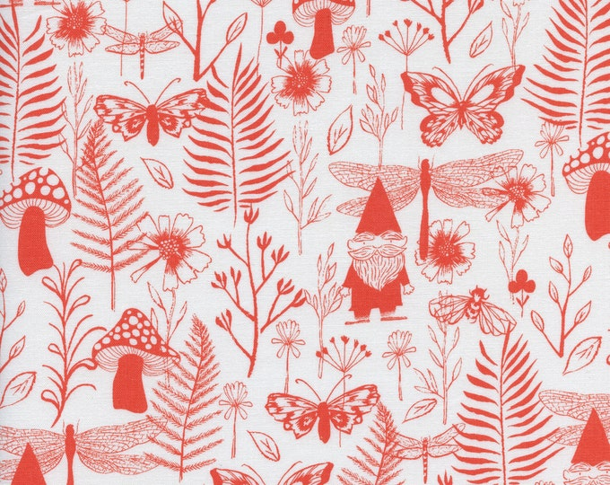 PRESALE: Garden (in red) from Front Yard Collection by Sarah Watts for Cotton + Steel