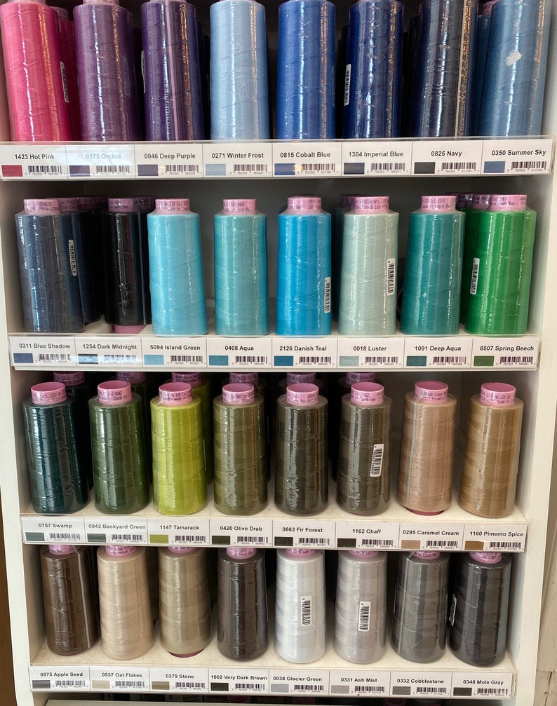 Seracor Polyester Thread by Mettler image 0