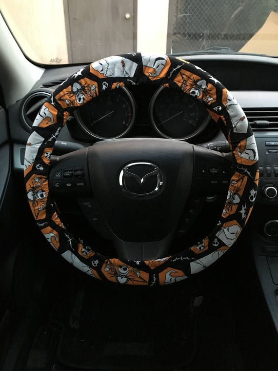 image 0 - Nightmare Before Christmas Steering Wheel Cover