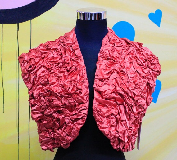 Vintage, 80s, 90s, Shrug, Evening, Jacket, bolero,