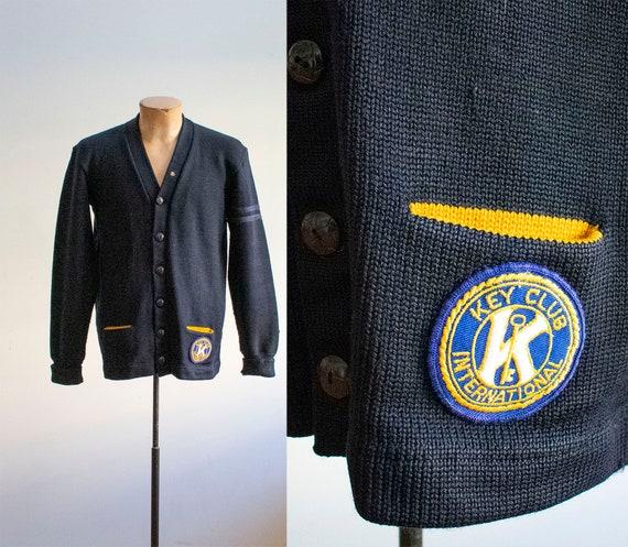 Vintage 1950s Varsity Sweater / Vintage Letterman