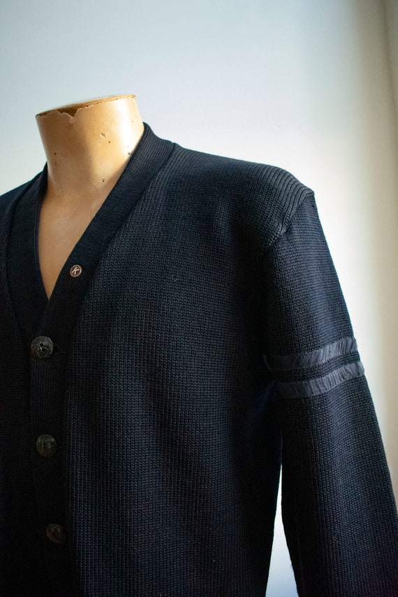 Vintage 1950s Varsity Sweater / Vintage Letterman… - image 4