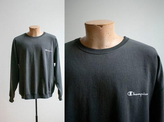 Vintage 1980s Champion Pullover / Vintage Crewnec… - image 1