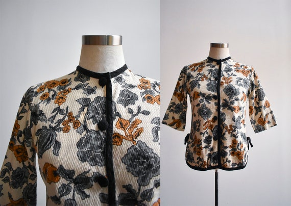 1960s Tapestry Blouse