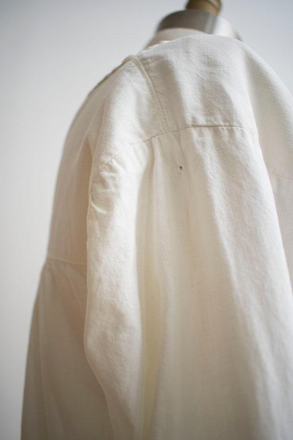 Vintage Edwardian Nightgown / White Cotton Nightg… - image 6