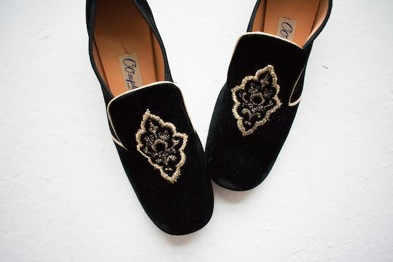 Vintage 1960s Oomphies / Vintage Pilgrim Shoes / V