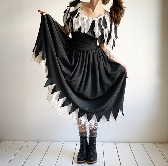 Vintage 1980s Jester Dress