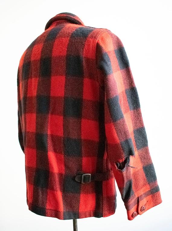 Vintage 1940s Woolrich Jacket / Vintage Wool Buff… - image 7