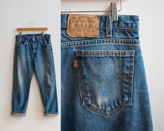Vintage 1970s Levis / Orange Tab Levis / Vintage L