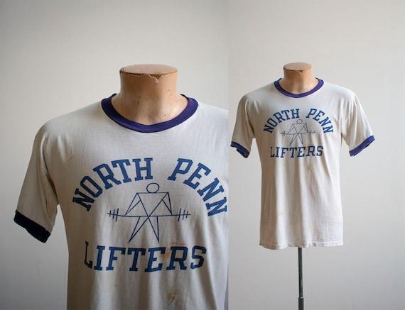 Vintage 1960s 1970s Tshirt / Vintage North Penn Li