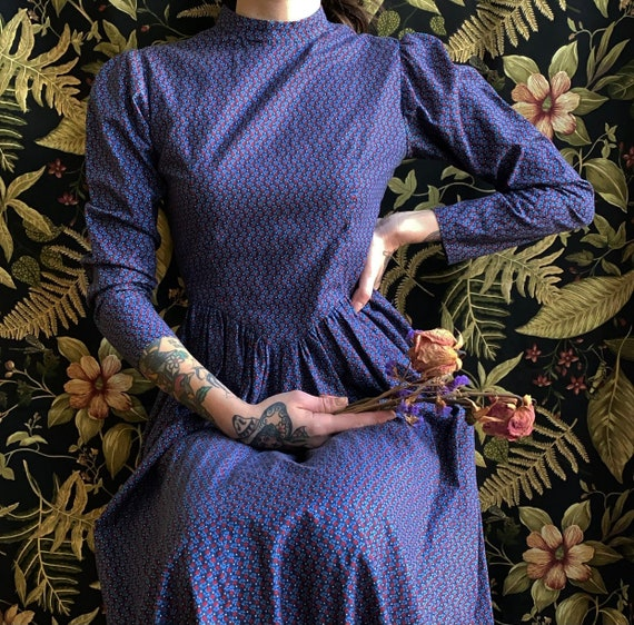 Victorian Inspired Calico Dress
