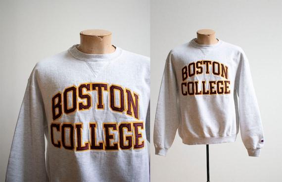Vintage 1990s Boston College Pullover / Boston Col