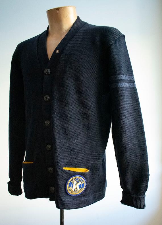 Vintage 1950s Varsity Sweater / Vintage Letterman… - image 6