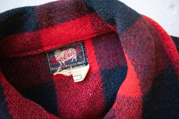 Vintage 1940s Woolrich Jacket / Vintage Wool Buff… - image 10