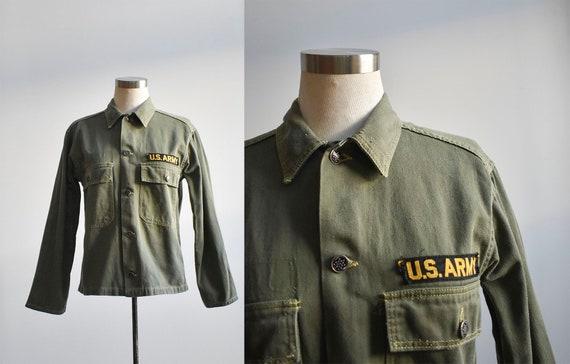 Vintage US Army Cropped Field Jacket
