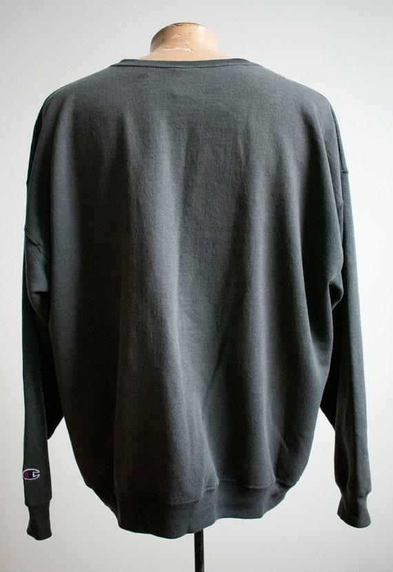 Vintage 1980s Champion Pullover / Vintage Crewnec… - image 9