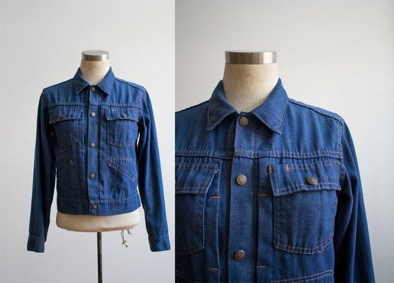 60s Denim Jacket / Montgomery Wards Jean Jacket /